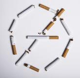 Έννοια απαγόρευσης του καπνίσματος Στοκ φωτογραφία με δικαίωμα ελεύθερης χρήσης
