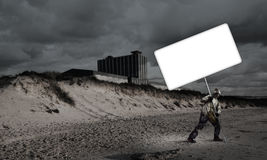 Έννοια αποκάλυψης και καταστροφής Στοκ φωτογραφία με δικαίωμα ελεύθερης χρήσης