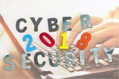 Έννοια ασφάλειας Cyber Στοκ Εικόνες