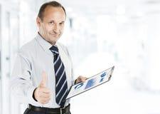 Έννοια αυξανόμενο επενδυτής με το financ Στοκ Εικόνα