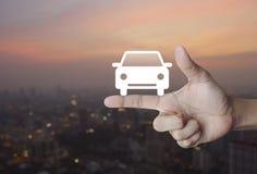 Έννοια αυτοκινήτων ταξί υπηρεσίας επιχείρησης Στοκ Εικόνες