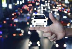 Έννοια αυτοκινήτων υπηρεσίας επιχείρησης Στοκ Εικόνες