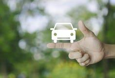 Έννοια αυτοκινήτων υπηρεσίας επιχείρησης Στοκ Εικόνα