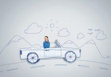 Έννοια αυτοκινήτων Στοκ Εικόνα
