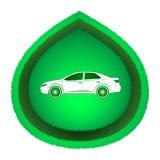 Έννοια αυτοκινήτων Eco Στοκ Εικόνες