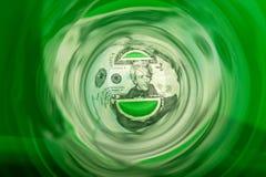 Χρήματα κάτω από τον αγωγό Στοκ εικόνα με δικαίωμα ελεύθερης χρήσης