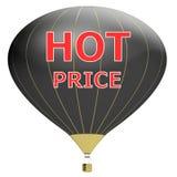 Έννοια αφισών πώλησης με την έκπτωση τοις εκατό τρισδιάστατο έμβλημα απεικόνισης με το μπαλόνι αέρα Σχέδιο για το έμβλημα, το ιπτ Στοκ Εικόνα