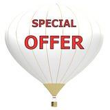 Έννοια αφισών πώλησης με την έκπτωση τοις εκατό τρισδιάστατο έμβλημα απεικόνισης με το μπαλόνι αέρα Σχέδιο για το έμβλημα, το ιπτ Στοκ φωτογραφία με δικαίωμα ελεύθερης χρήσης