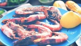 Έννοια γεύσεων κόμματος εορτασμού μεσημεριανού γεύματος τροφίμων Στοκ Φωτογραφία