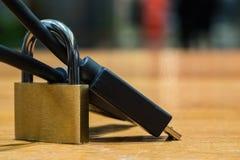 Έννοια για Διαδίκτυο και τη ασφάλεια δεδομένων Στοκ Φωτογραφίες