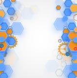 Έννοια για την εταιρικές επιχείρηση & την ανάπτυξη νέας τεχνολογίας Στοκ Εικόνες
