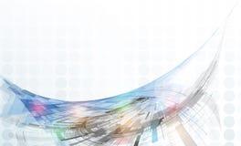 Έννοια για την εταιρική επιχείρηση νέας τεχνολογίας Στοκ φωτογραφία με δικαίωμα ελεύθερης χρήσης
