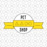 Έννοια για το κατάστημα κατοικίδιων ζώων Στοκ Εικόνες