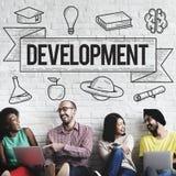 Έννοια γνώσης μελέτης ιδεών εκμάθησης εκπαίδευσης Στοκ Εικόνα