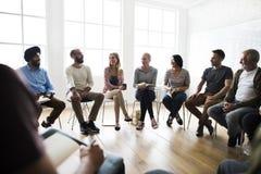 Έννοια γραφείων σεμιναρίου συνεδρίασης των ανθρώπων Στοκ φωτογραφίες με δικαίωμα ελεύθερης χρήσης