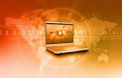 έννοια Διαδίκτυο ανασκόπ&e Στοκ εικόνες με δικαίωμα ελεύθερης χρήσης