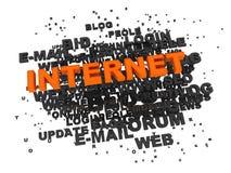 έννοια Διαδίκτυο διανυσματική απεικόνιση