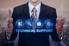 Έννοια Διαδικτύου επιχειρησιακής τεχνολογίας εξυπηρέτησης πελατών τεχνικής υποστήριξης στοκ φωτογραφία με δικαίωμα ελεύθερης χρήσης