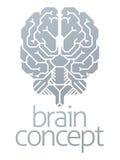 Έννοια εγκεφάλου Στοκ εικόνες με δικαίωμα ελεύθερης χρήσης