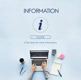 Έννοια εικονιδίων επιστολών βοήθειας πληροφοριών Στοκ φωτογραφίες με δικαίωμα ελεύθερης χρήσης