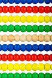 Έννοια εκπαίδευσης - άβακας με πολλές χάντρες Στοκ Εικόνες