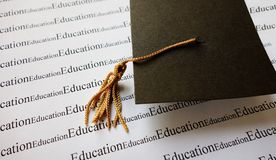 Έννοια εκπαίδευσης Στοκ εικόνα με δικαίωμα ελεύθερης χρήσης