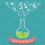 Έννοια εκπαίδευσης Στοκ Εικόνα