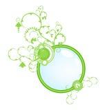 έννοια εμβλημάτων πράσινη ελεύθερη απεικόνιση δικαιώματος