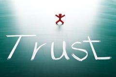 Έννοια εμπιστοσύνης πελατών Στοκ εικόνες με δικαίωμα ελεύθερης χρήσης