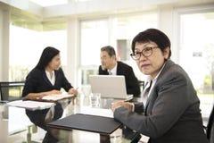 Έννοια ενημερώσεων παρουσίασης συνεδρίασης της επιχειρησιακής συζήτησης στοκ εικόνες με δικαίωμα ελεύθερης χρήσης