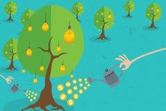 Έννοια επενδυτών Crowdfunding και επιχειρήσεων Στοκ εικόνες με δικαίωμα ελεύθερης χρήσης