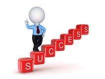 Έννοια επιτυχίας. Ελεύθερη απεικόνιση δικαιώματος