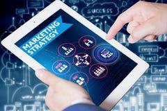 Έννοια επιχειρήσεων, τεχνολογίας, Διαδικτύου και δικτύων Νέο busine Στοκ Εικόνες