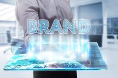 Έννοια επιχειρήσεων, τεχνολογίας, Διαδικτύου και δικτύων Νέο busine Στοκ Εικόνα