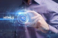 Έννοια επιχειρήσεων, τεχνολογίας, Διαδικτύου και δικτύων Νέο busine Στοκ εικόνα με δικαίωμα ελεύθερης χρήσης