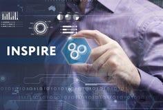 Έννοια επιχειρήσεων, τεχνολογίας, Διαδικτύου και δικτύων Νέο busine στοκ φωτογραφία με δικαίωμα ελεύθερης χρήσης