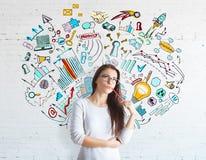 Έννοια επιχειρηματικού πνεύματος στοκ εικόνες