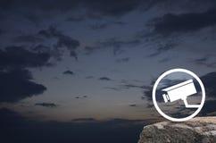 έννοια επιχειρησιακής ασφάλειας Στοκ εικόνα με δικαίωμα ελεύθερης χρήσης