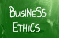 Έννοια επιχειρησιακής ηθικής Στοκ εικόνες με δικαίωμα ελεύθερης χρήσης