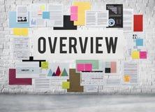 Έννοια επιχειρησιακής στρατηγικής γραφικής εργασίας εγγράφων Στοκ Εικόνες
