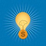 Έννοια επιχειρησιακής χρηματοδότησης Στοκ Εικόνες