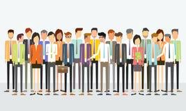 Έννοια επιχειρησιακών επικοινωνιών ανθρώπων ομάδας ελεύθερη απεικόνιση δικαιώματος