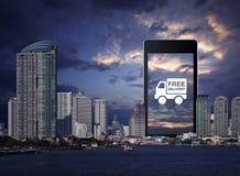 Έννοια επιχειρησιακών μεταφορών Στοκ εικόνα με δικαίωμα ελεύθερης χρήσης