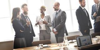 Έννοια εργασίας στρατηγικής συζήτησης συνεδρίασης της επιχειρηματικής μονάδας Στοκ φωτογραφία με δικαίωμα ελεύθερης χρήσης