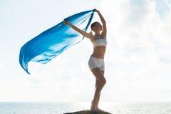 Έννοια ελευθερίας και ομορφιάς Στοκ φωτογραφία με δικαίωμα ελεύθερης χρήσης