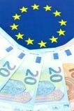 Έννοια ζωνών του ευρώ Στοκ Εικόνες