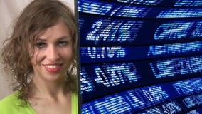 Έννοια 8 ζωτικότητας χρηματιστηρίου απόθεμα βίντεο