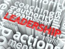 Έννοια ηγεσίας. Στοκ Φωτογραφία