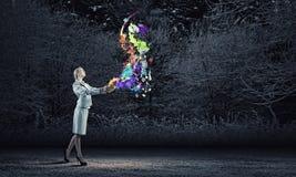έννοια δημιουργική Στοκ Φωτογραφίες