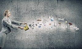έννοια δημιουργική Στοκ φωτογραφίες με δικαίωμα ελεύθερης χρήσης
